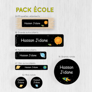 Pack Ecole